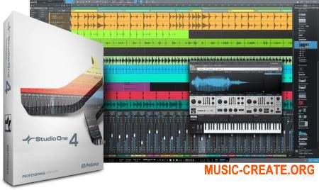 PreSonus Studio One 4 Professional v4.0.1 WiN OSX (Team R2R) - программа для создания музыки