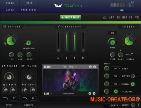 TrackGod Sound TrackGod 2 v2.00 RETAIL WIN (Team DECiBEL) - Hip Hop ромплер