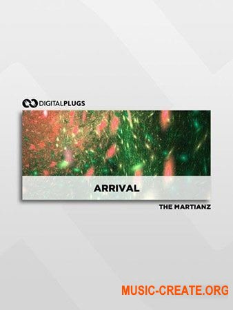 The Martianz Arrival Drum Kit (WAV) - сэмплы ударных