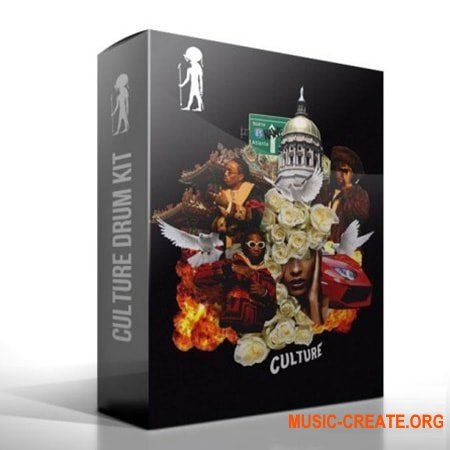 808Godz Culture Drum Kit (WAV FST SF2) - сэмплы ударных