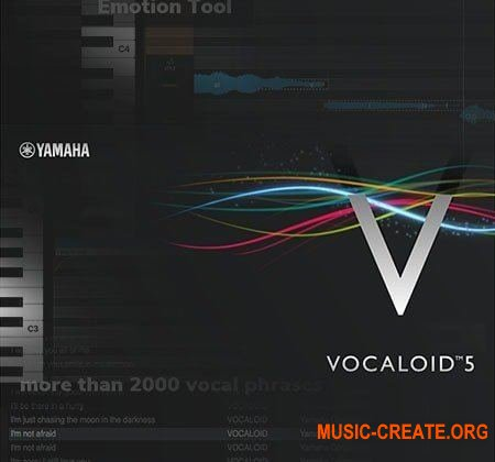 YAMAHA Vocaloid 5 ESV v5.0.2.1 WiN/MAC - плагин синтеза пения