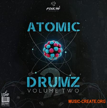 Fouche Atomic Drumz Vol 2 (WAV) - сэмплы ударных