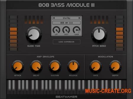 BeatMaker 808 Bass Module III v3.1.0 WiN-OSX RETAiL (SYNTHiC4TE) - бас модуль