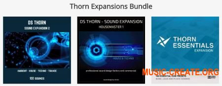 Rob Lee and Dmitry Sches Thorn Expansions Bundle (THOR EXPANSiON)