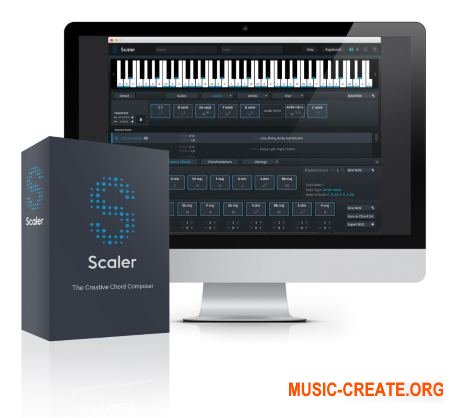 Plugin Boutique Scaler v1.5 WiN x64 x86 - MIDI-эффект