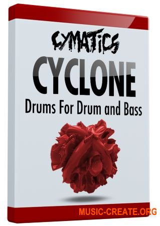 Cymatics Cyclone Drums for Drum and Bass (WAV) - сэмплы Drum and Bass