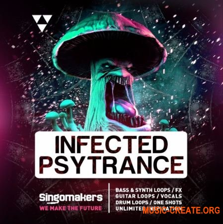 Singomakers Infected Psytrance (WAV REX) - сэмплы Psytrance