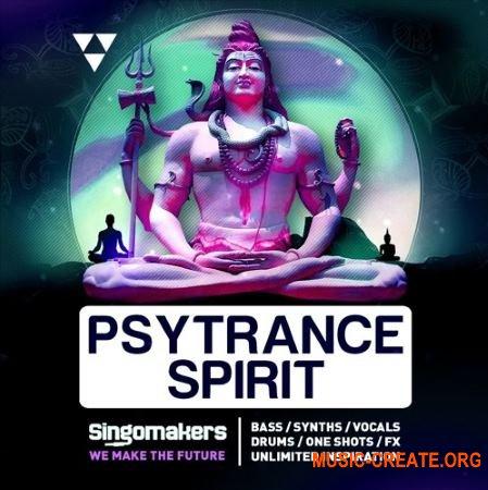 Singomakers Psytrance Spirit (WAV REX) - сэмплы Psytrance
