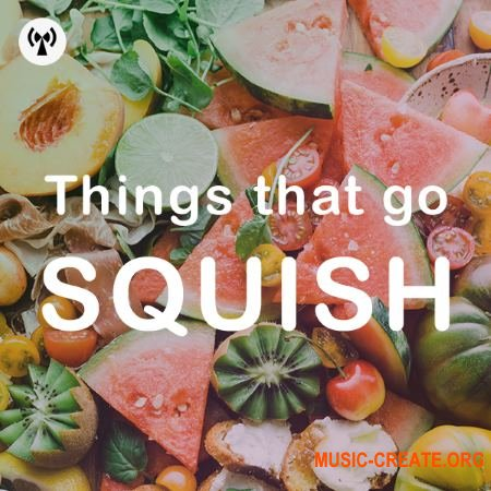 Noiiz Things That Go Squish (WAV) - звуковые эффекты