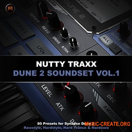 Nutty Traxx Dune 2 Soundset (SYNAPSE AUDiO DUNE 2)
