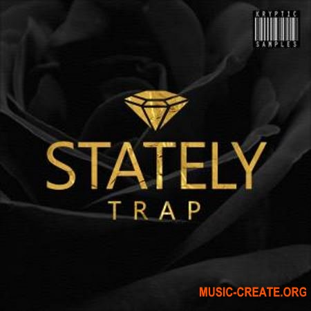 Kryptic Samples Stately Trap (WAV MIDi) - сэмплы Trap