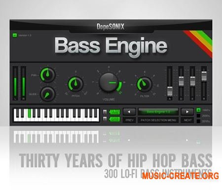 DopeSONIX Bass Engine v1.3 WiN-OSX RETAiL (SYNTHiC4TE) - бас-синтезатор