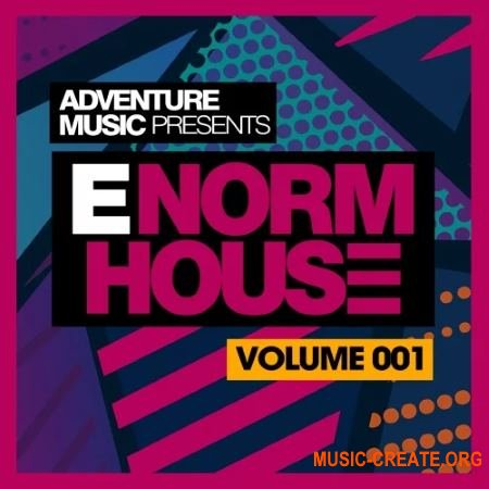 Adventure Music E-Norm House Vol 1 (WAV MIDI) - сэмплы House