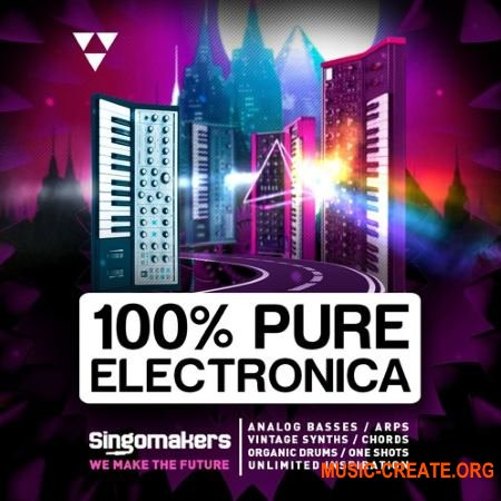 Singomakers 100% Pure Electronica (WAV REX) - сэмплы Electronica