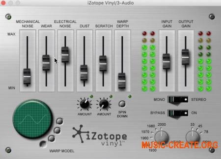 iZotope Vinyl v1.80 (Team R2R) - эффект винила