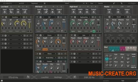 HY-Plugins HY-MBMFX2 v1.0.6 WiN OSX (Team R2R) - мульти-эффект плагин
