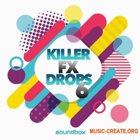 Soundbox Killer FX Drops 6 (WAV) - звуковые эффекты