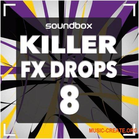 Soundbox Killer FX Drops 8 (WAV) - звуковые эффекты