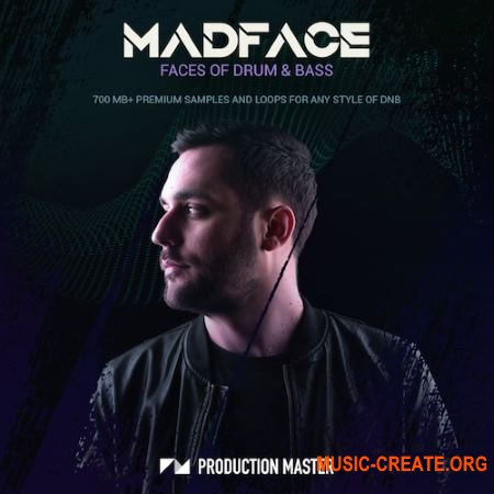 Production Master Madface Faces Of Drum And Bass (WAV) - сэмплы DnB
