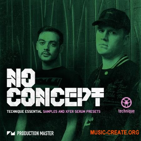Production Master No Concept Technique Essential (WAV SERUM) - сэмплы DnB