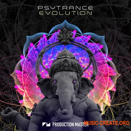 Production Master Psytrance Evolution (WAV) - сэмплы Psytrance