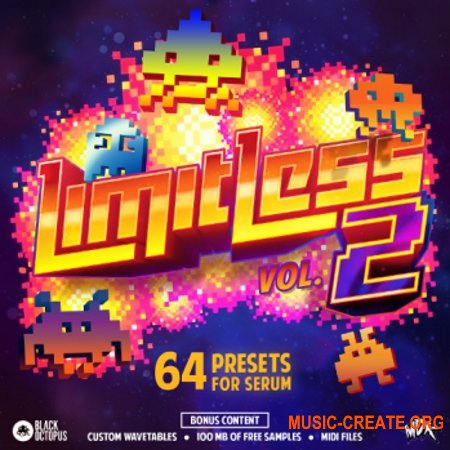 Black Octopus Sound Limitless By MDK Vol 2