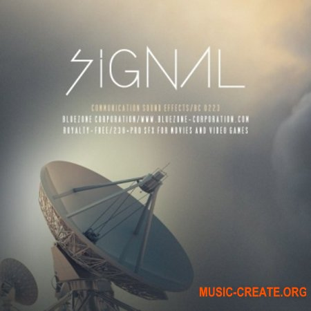 Bluezone Corporation Signal Communication Sound Effects (WAV) - звуковые эффекты