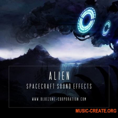 Bluezone Corporation Alien Spacecraft Sound Effects (WAV) - звуковые эффекты