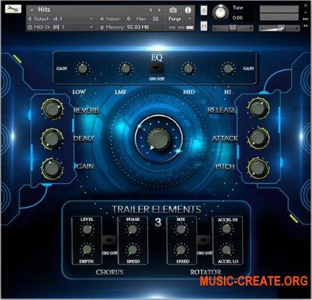 TH Studio Production Trailer Elements Vol. 3 (KONTAKT WAV) - библиотека звуковых эффектов