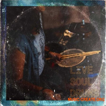 Touch Loops Live Soul Drums (WAV) - сэмплы ударных
