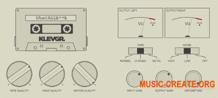Klevgrand DAW Cassette v1.0.0 WIN OSX (Team R2R) - плагин эмуляции магнитофона