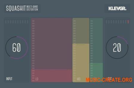Klevgrand SquashIt v1.0.0 WIN OSX (Team R2R) - плагин многоканального искажения
