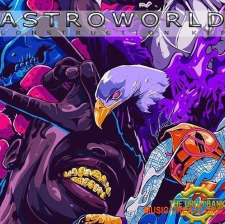 The Drum Bank Astroworld (WAV MiDi) - сэмплы Trap