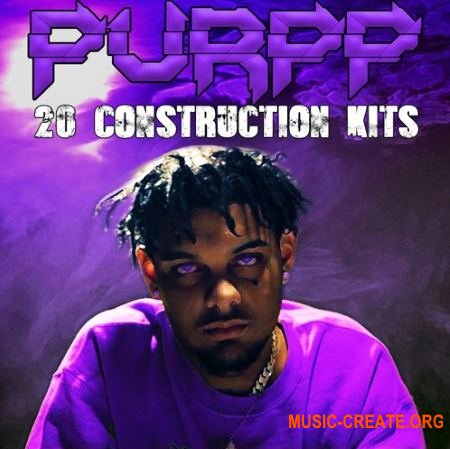 The Drum Bank Purpp (WAV MiDi) - сэмплы Hip Hop, Rap