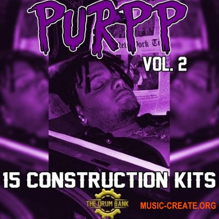 The Drum Bank Purpp Volume 2 (WAV MiDi) - сэмплы Hip Hop, Rap