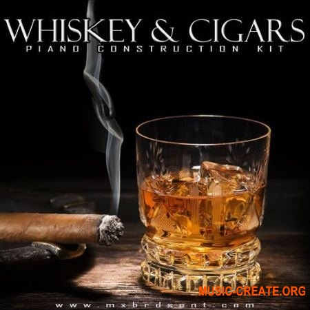 The Drum Bank Whiskey And Cigars (WAV MiDi) - сэмплы Hip Hop, Rap