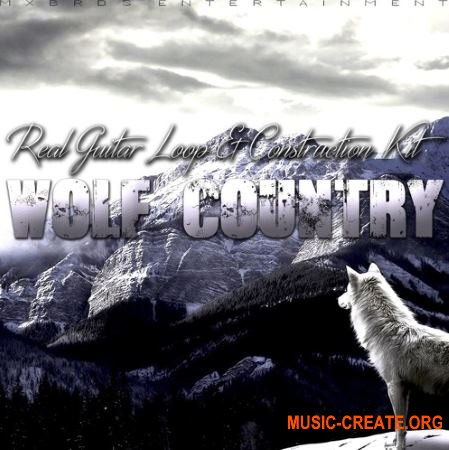 The Drum Bank Wolf Country (WAV MiDi) - сэмплы Hip Hop