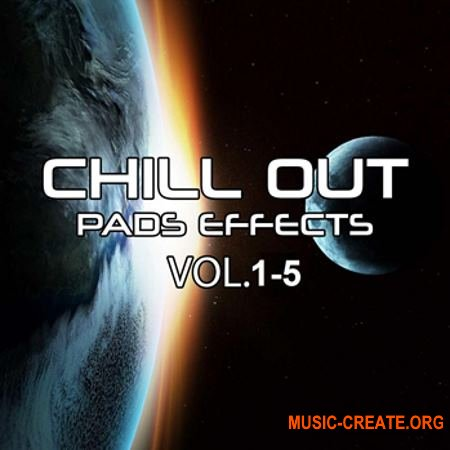 Rafal Kulik Chill Out Pads Effects Volume 1-5 (WAV) - пэды для Ambient, Chill out, Downtempo