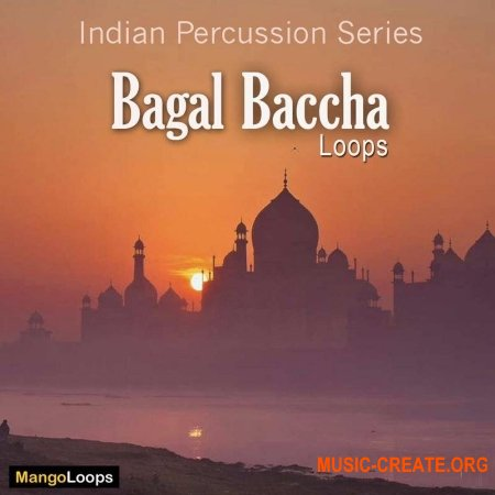 Mango Loops Indian Percussion Series Bagal Baccha (WAV AiFF) - сэмплы перкуссии
