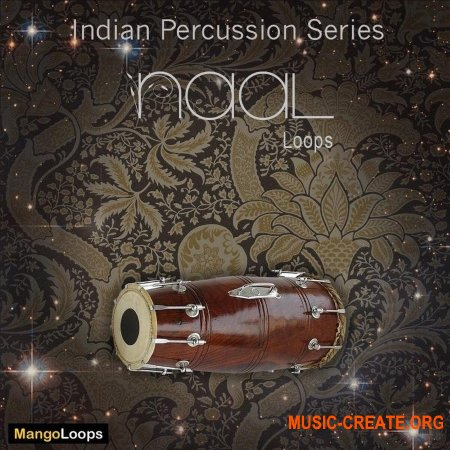 Mango Loops Indian Percussion Series Naal (WAV AiFF) - сэмплы перкуссии
