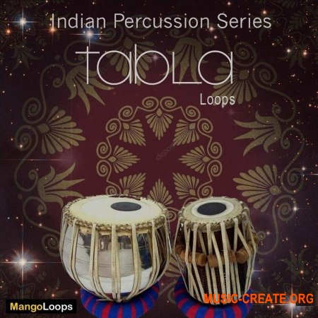 Mango Loops Indian Percussion Series Tabla (WAV AiFF) - сэмплы перкуссии