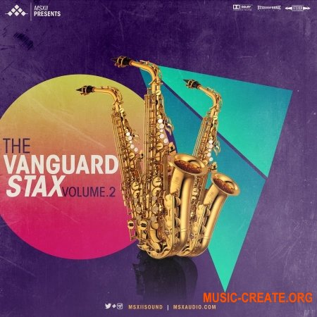 MSXII The Vanguard Stax 2 (WAV) - сэмплы саксофона