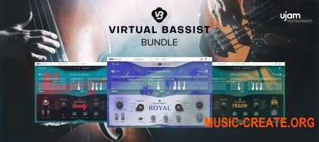 UJAM Virtual Bassists Bundle v1.0.1 (Team V.R) - виртуальные гитары