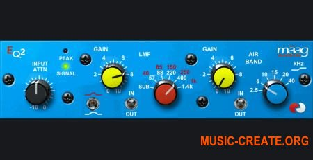 Maag Audio EQ2 v1.5 (Team R2R) - эквалайзер