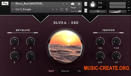 Sound Aesthetics Sampling Blura Red v1.0 (KONTAKT) - синтезаторные звуки