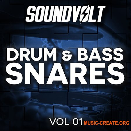 Soundvolt Drum and Bass Snares Vol 1 (WAV) - сэмплы Drum and Bass