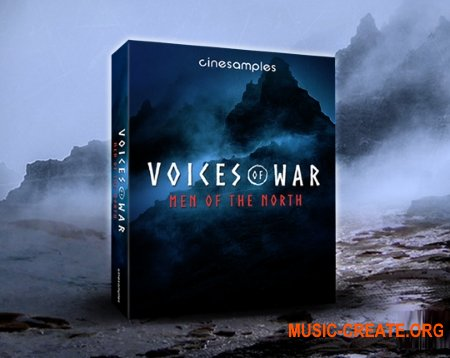 Cinesamples Voices of War - Men of the North (KONTAKT) - библиотека мужского хора