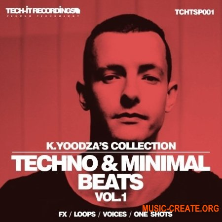 Tech-It Recordings K.Yoodza Collection Techno and Minimal Beats Vol.1 (WAV) - сэмплы Techno, Minimal