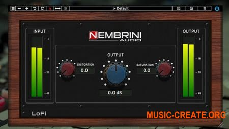 Nembrini Audio LoFi Vintage Clipper v1.0.2 (Team R2R) - плагин сатурации