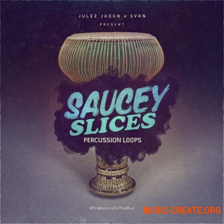 Julez Jadon Saucey Slices Percussion Loops (WAV) - сэмплы перкуссии